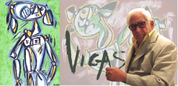 Oswaldo Vigas - Pintor y escultor venezolano
