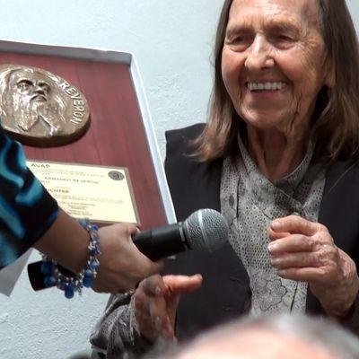 AVAP concedío a Luisa Richter el Premio Nacional Armando Reverón 2011